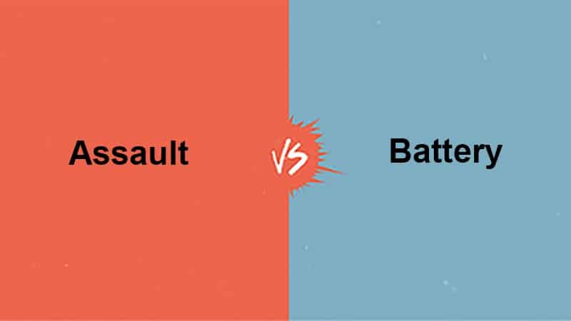 The difference between assault and battery in texas and houston